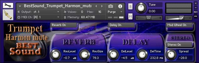 Best Sound Trumpet Harmon mute