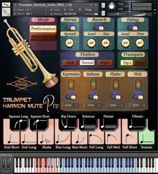Trumpet Harmon mute kontakt